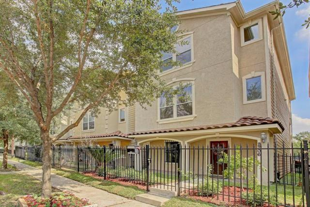 2202 Colorado Street, Houston, TX 77007 (MLS #10573616) :: Team Parodi at Realty Associates