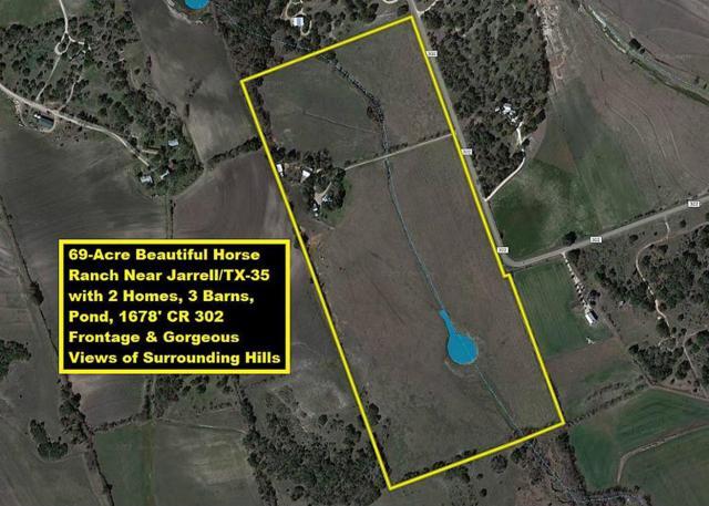 870 County Road 302, Jarrell, TX 76537 (MLS #10726914) :: Krueger Real Estate