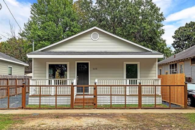 1614 Fulton Street, Houston, TX 77009 (MLS #10756636) :: Giorgi Real Estate Group