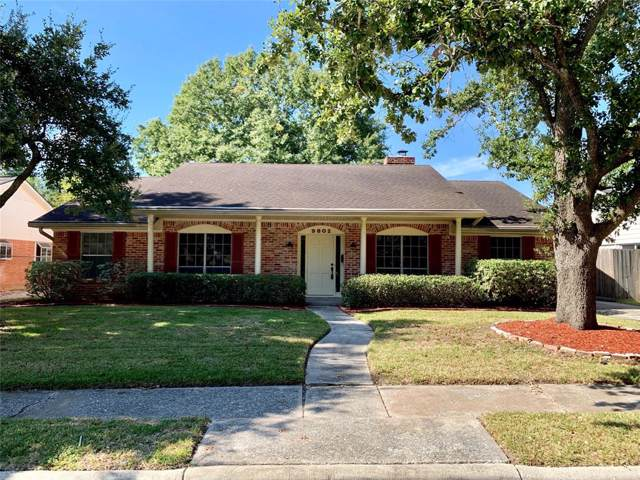 9802 Bob White Drive, Houston, TX 77096 (MLS #10757353) :: The SOLD by George Team