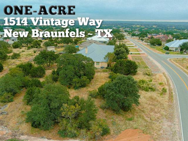 1514 Vintage Way, New Braunfels, TX 78132 (MLS #10782077) :: My BCS Home Real Estate Group
