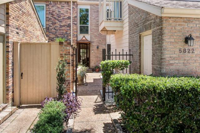 5822 Valley Forge Drive #106, Houston, TX 77057 (MLS #10792898) :: Grayson-Patton Team