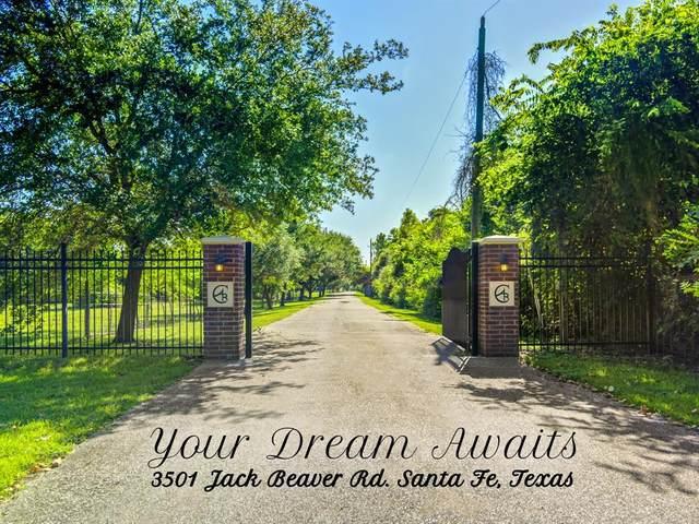3501 Jack Beaver Road, Santa Fe, TX 77517 (MLS #10813479) :: Michele Harmon Team