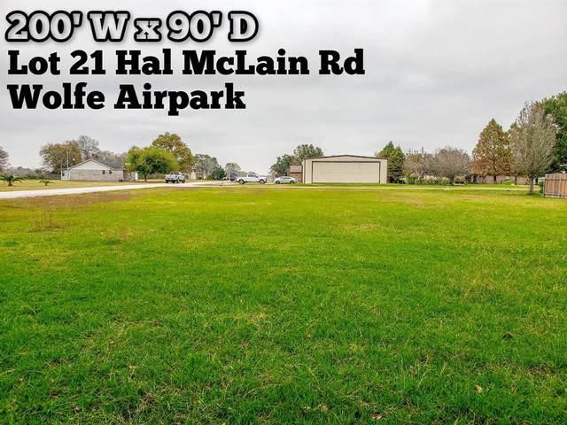 Lot 21 Hal Mclain Road, Manvel, TX 77578 (MLS #11003112) :: Area Pro Group Real Estate, LLC