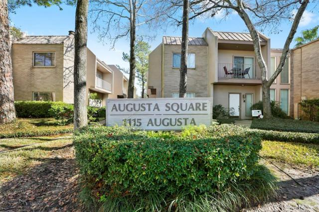 1115 Augusta Drive #16, Houston, TX 77057 (MLS #11179562) :: Texas Home Shop Realty