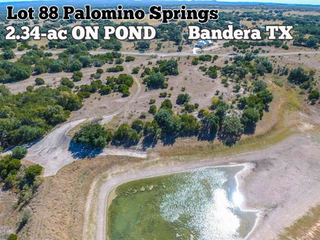 Lot 88 Palomino Springs, Bandera, TX 78003 (MLS #11315845) :: The Heyl Group at Keller Williams