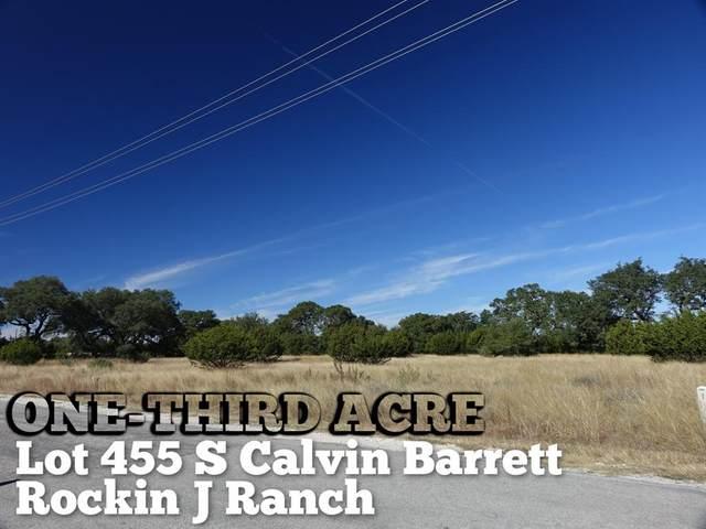Lot 455 S Calvin Barrett, Blanco, TX 78606 (MLS #11322082) :: The Queen Team