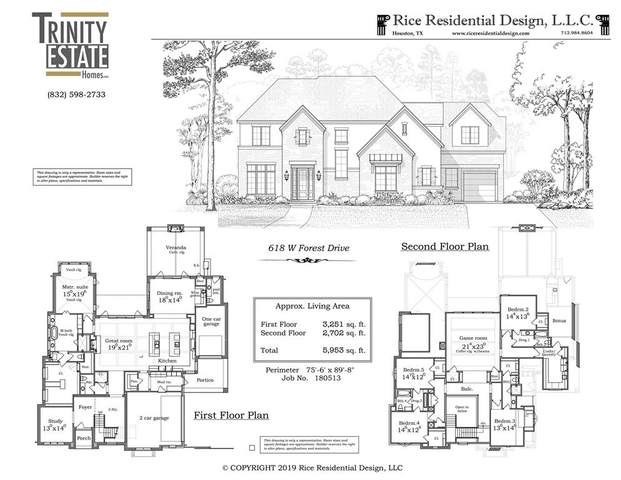 618 W Forest Drive, Houston, TX 77079 (MLS #11330308) :: The Heyl Group at Keller Williams