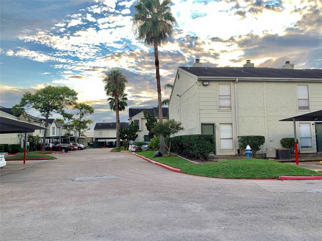 8640 Village Of Fondren Drive #8640, Houston, TX 77071 (MLS #11366412) :: Caskey Realty