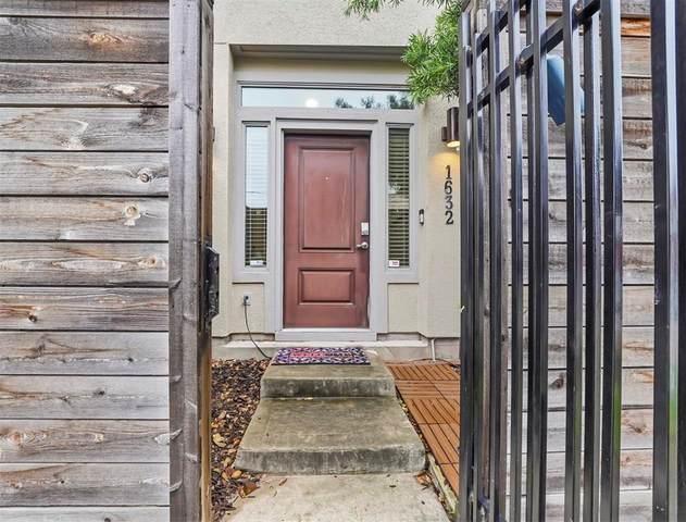 1632 Thompson Street, Houston, TX 77007 (MLS #11368265) :: Area Pro Group Real Estate, LLC