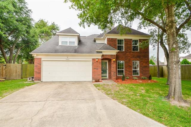 3902 Greenwood Drive, Pearland, TX 77584 (MLS #11408426) :: Caskey Realty