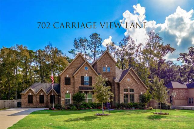 702 Carriage View Lane, Huffman, TX 77336 (MLS #11582055) :: The SOLD by George Team