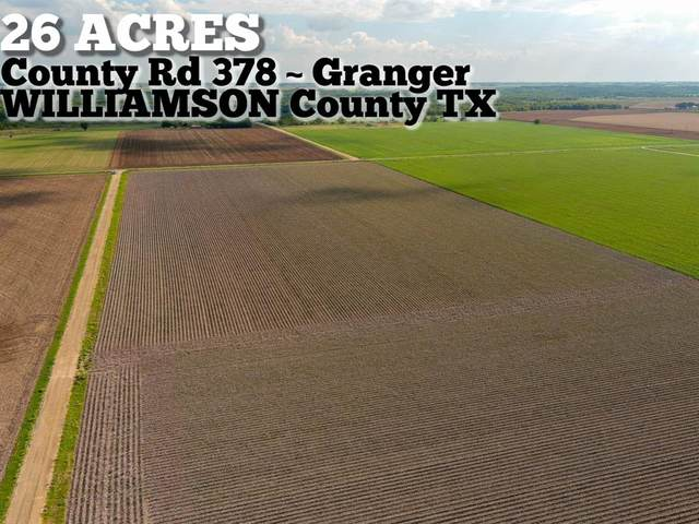 26-ac County Road 378, Granger, TX 76530 (MLS #11714135) :: Connect Realty