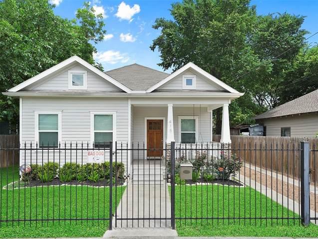415 Marie Street, Houston, TX 77009 (MLS #11966821) :: The Bly Team