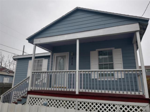 816 36th Street, Galveston, TX 77550 (MLS #11987518) :: Christy Buck Team