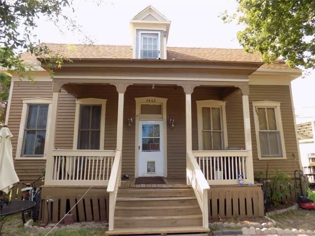 2802 Avenue M 1/2, Galveston, TX 77550 (MLS #12033774) :: Green Residential
