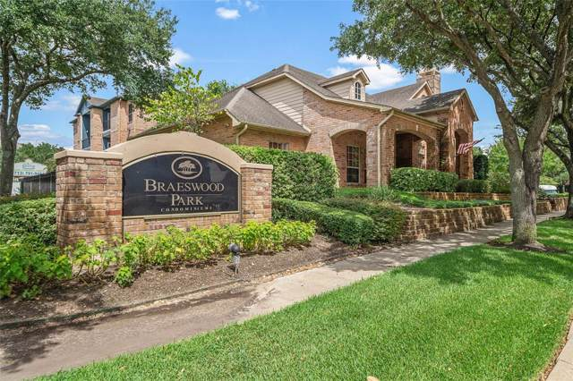 2255 Braeswood Park Drive #167, Houston, TX 77030 (MLS #12185888) :: The Bly Team