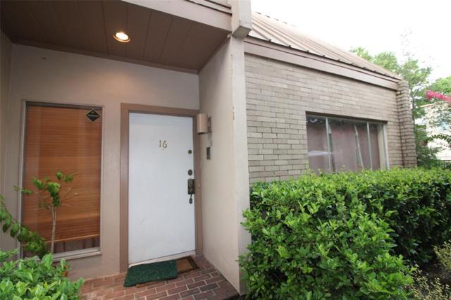 1115 Augusta Drive #16, Houston, TX 77057 (MLS #12192522) :: Giorgi Real Estate Group