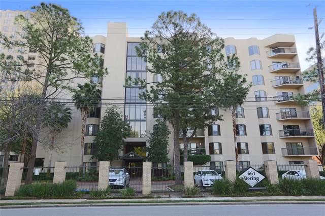 661 Bering Drive #304, Houston, TX 77057 (MLS #12296437) :: The Sansone Group
