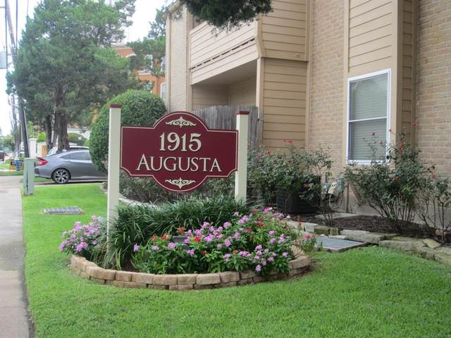 1915 Augusta Drive #20, Houston, TX 77057 (MLS #12297798) :: NewHomePrograms.com LLC