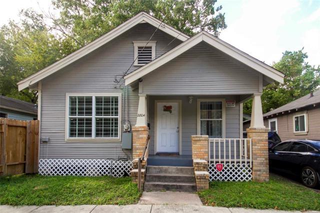 2804 Nettleton Street, Houston, TX 77004 (MLS #12370291) :: Texas Home Shop Realty