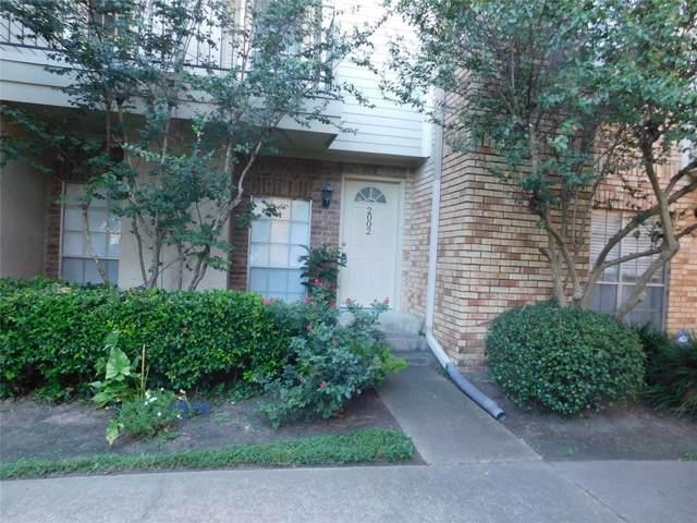 3600 Jeanetta Street #2002, Houston, TX 77063 (MLS #12433884) :: The Heyl Group at Keller Williams