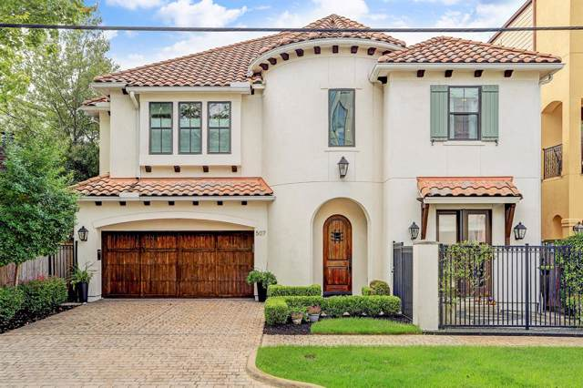507 Asbury Street, Houston, TX 77007 (MLS #13285705) :: TEXdot Realtors, Inc.
