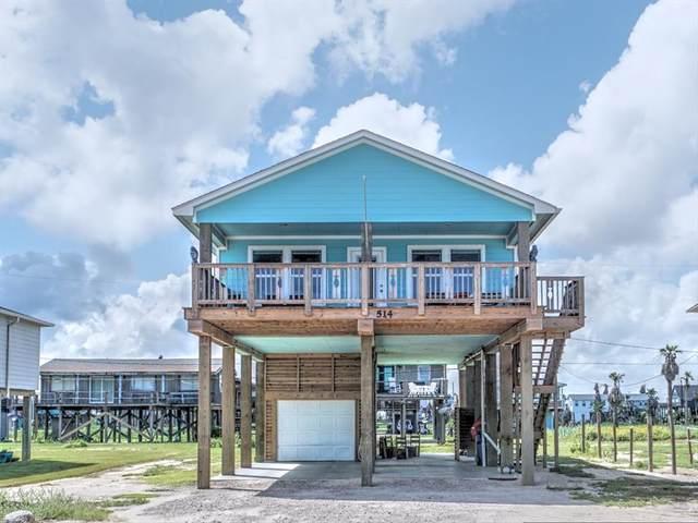 514 Beach Drive, Surfside Beach, TX 77541 (MLS #13388999) :: The Wendy Sherman Team