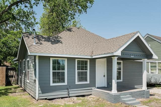 4419 Harvard Street, Houston, TX 77018 (MLS #13539515) :: The SOLD by George Team