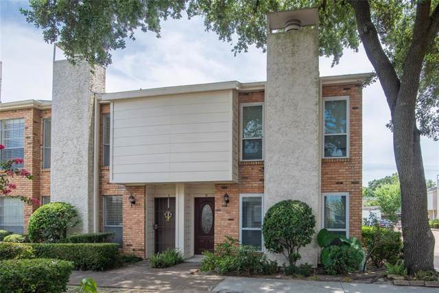 6201 Beverlyhill Street #12, Houston, TX 77057 (MLS #13675153) :: The Heyl Group at Keller Williams