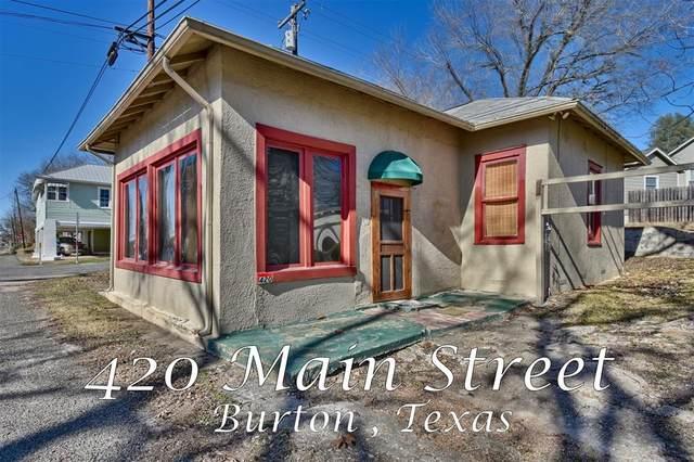 420 N Main Street, Burton, TX 77835 (MLS #14009188) :: Michele Harmon Team