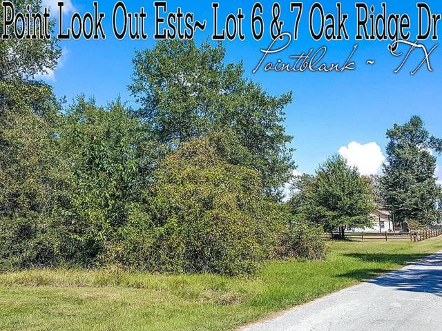 Lot 6-7 Oak Ridge Drive, Point Blank, TX 77364 (MLS #14166094) :: The SOLD by George Team