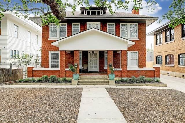 606 Avondale Street, Houston, TX 77006 (#14203795) :: ORO Realty