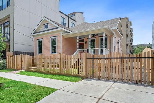 1911 Crockett Street A, Houston, TX 77007 (MLS #14374208) :: Bay Area Elite Properties