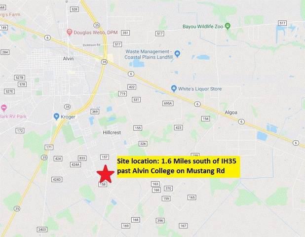3609 County Road 161, Alvin, TX 77511 (MLS #14397438) :: TEXdot Realtors, Inc.