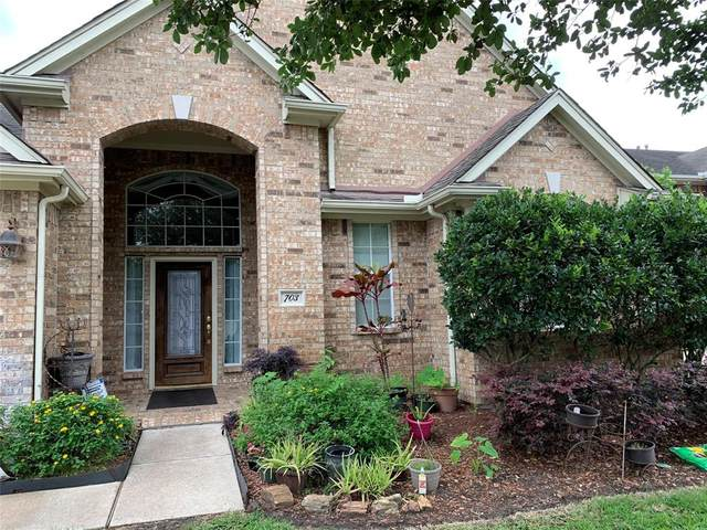 703 N Elder Grove Drive, Pearland, TX 77584 (MLS #14472038) :: CORE Realty