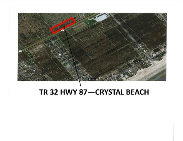 TR 32 Highway 87, Crystal Beach, TX 77650 (MLS #14578672) :: The Queen Team