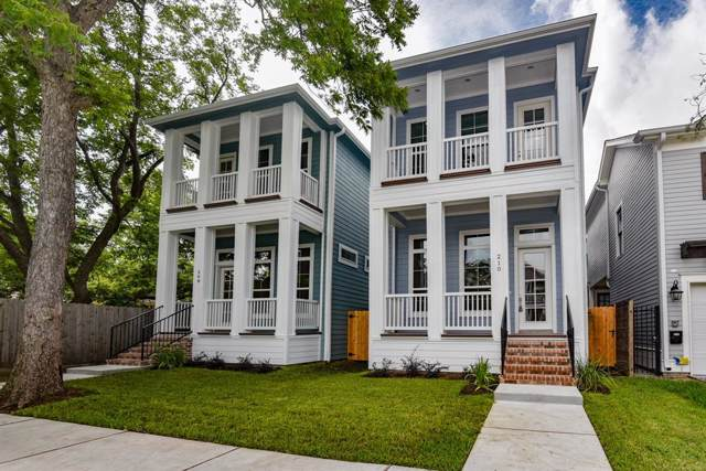 210 W 24th Street, Houston, TX 77008 (MLS #14627846) :: Green Residential