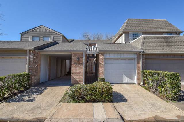 5844 Valley Forge Drive #133, Houston, TX 77057 (MLS #14760537) :: Keller Williams Realty