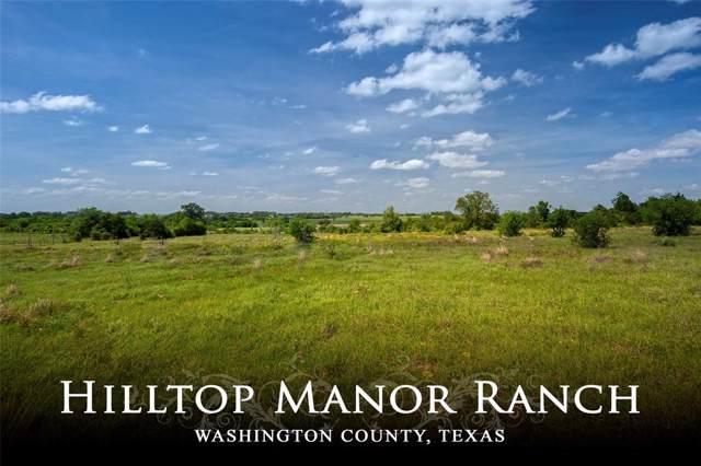 10029 Palestine Road, Brenham, TX 77833 (MLS #14867717) :: The Sansone Group