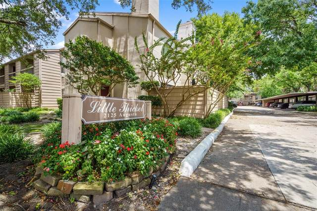 2125 Augusta Drive #71, Houston, TX 77057 (MLS #14868860) :: The SOLD by George Team