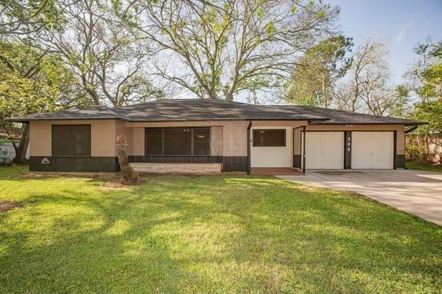 206 Palm Lane, Lake Jackson, TX 77566 (MLS #14985676) :: The Home Branch