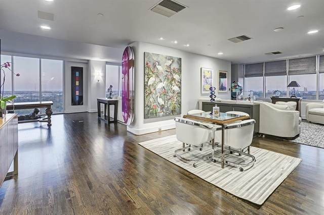 121 N Post Oak Lane #2301, Houston, TX 77024 (MLS #15039796) :: Michele Harmon Team