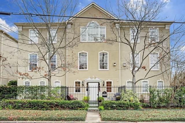1817 Park Street B, Houston, TX 77019 (MLS #15593739) :: Green Residential