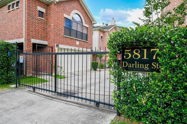 5817 Darling Street G, Houston, TX 77007 (MLS #15648898) :: The SOLD by George Team