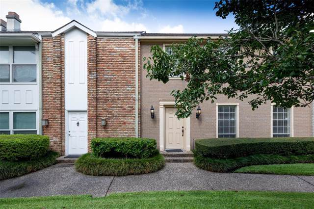 2323 Augusta Drive #24, Houston, TX 77057 (MLS #15652512) :: The Bly Team