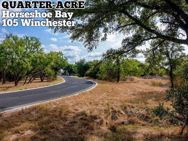 105 Winchester, Horseshoe Bay, TX 78657 (MLS #15798013) :: The SOLD by George Team