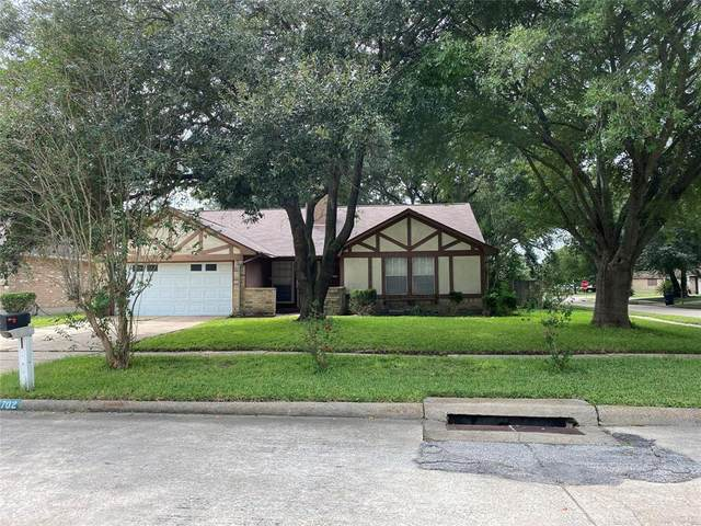 15702 Castorglen Drive, Webster, TX 77598 (MLS #16096434) :: Front Real Estate Co.