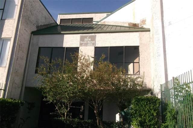 2814 S Bartell Drive #11, Houston, TX 77054 (MLS #16155112) :: Ellison Real Estate Team