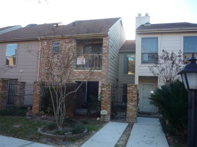 800 Country Place Drive #803, Houston, TX 77079 (MLS #16221978) :: The Heyl Group at Keller Williams
